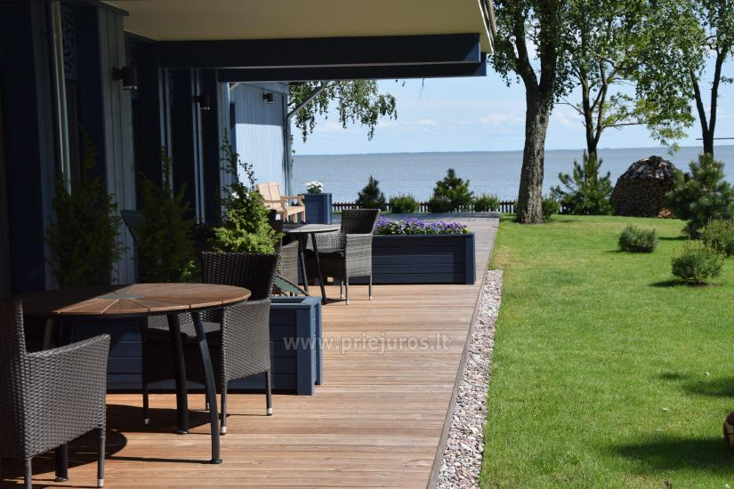 Apartament z tarasem i widokiem na lagunę w Mierzei Kurońskiej - 1