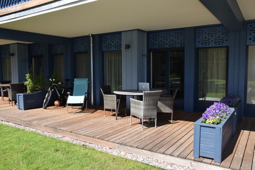 Apartament z tarasem i widokiem na lagunę w Mierzei Kurońskiej - 3