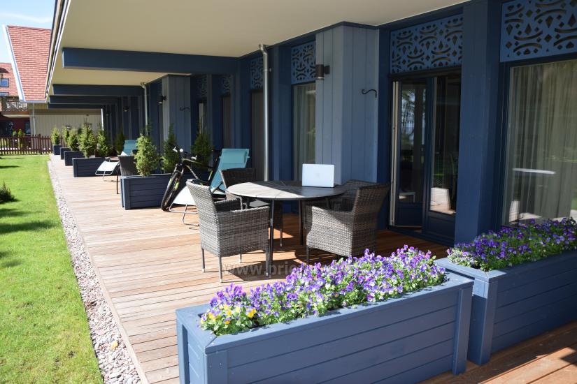 Apartament z tarasem i widokiem na lagunę w Mierzei Kurońskiej - 4