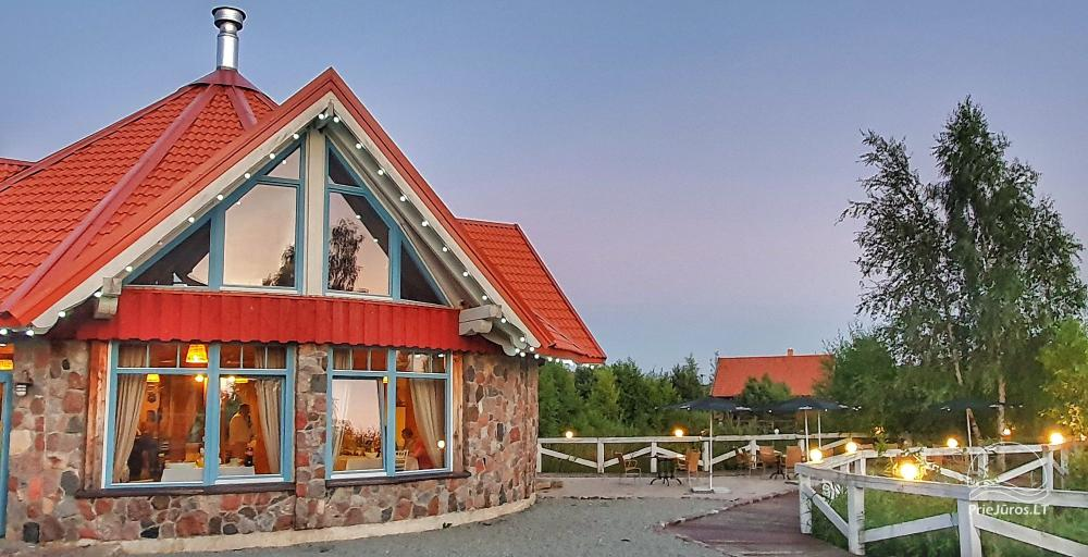 Dom gościnny z restauracją i sauną PAMARIO BURĖ w pobliżu Zalewu Kurońskiego - 2