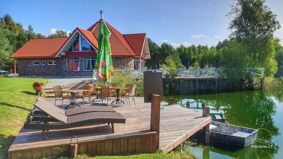 Dom gościnny z restauracją i sauną PAMARIO BURĖ w pobliżu Zalewu Kurońskiego - 6