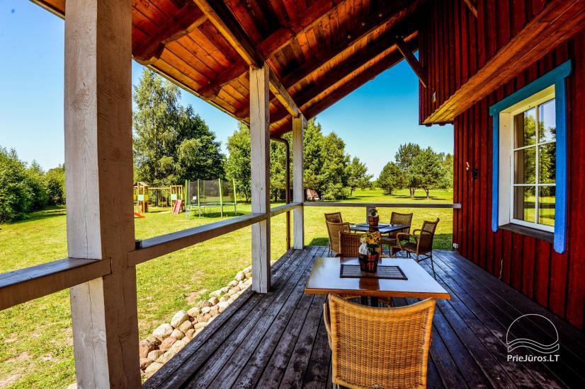 Dom gościnny z restauracją i sauną PAMARIO BURĖ w pobliżu Zalewu Kurońskiego - 11