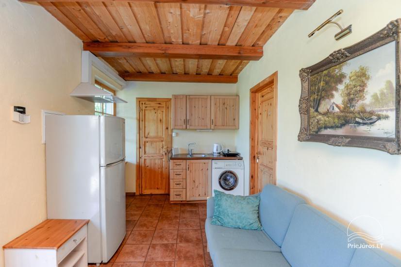Dom gościnny z restauracją i sauną PAMARIO BURĖ w pobliżu Zalewu Kurońskiego - 12