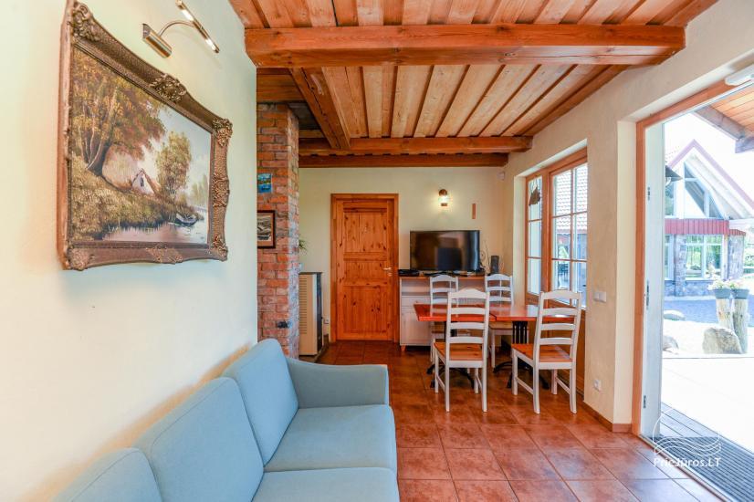 Dom gościnny z restauracją i sauną PAMARIO BURĖ w pobliżu Zalewu Kurońskiego - 14