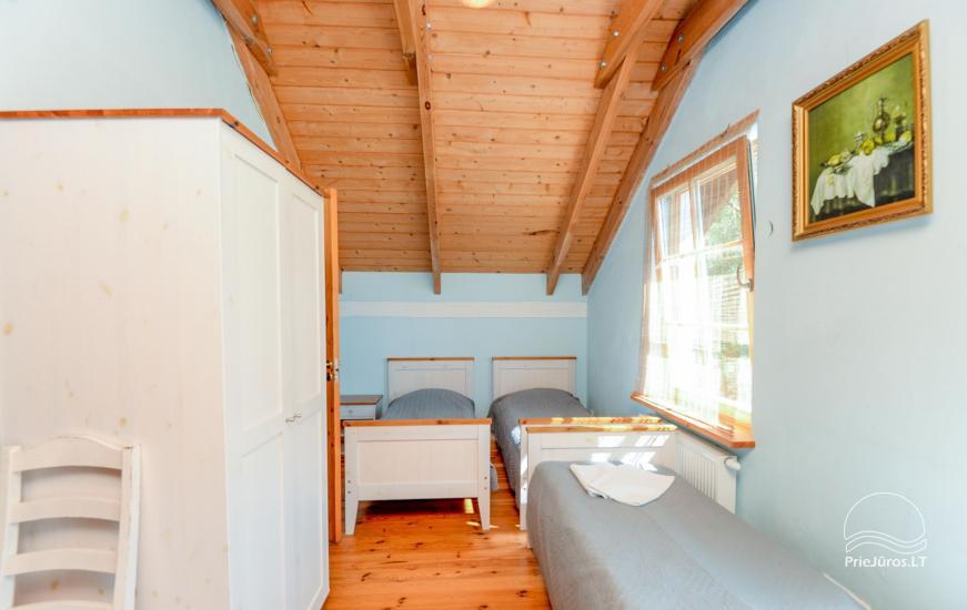Dom gościnny z restauracją i sauną PAMARIO BURĖ w pobliżu Zalewu Kurońskiego - 21