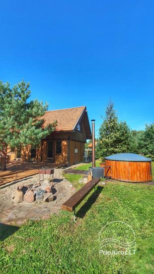 Dom gościnny z restauracją i sauną PAMARIO BURĖ w pobliżu Zalewu Kurońskiego - 25