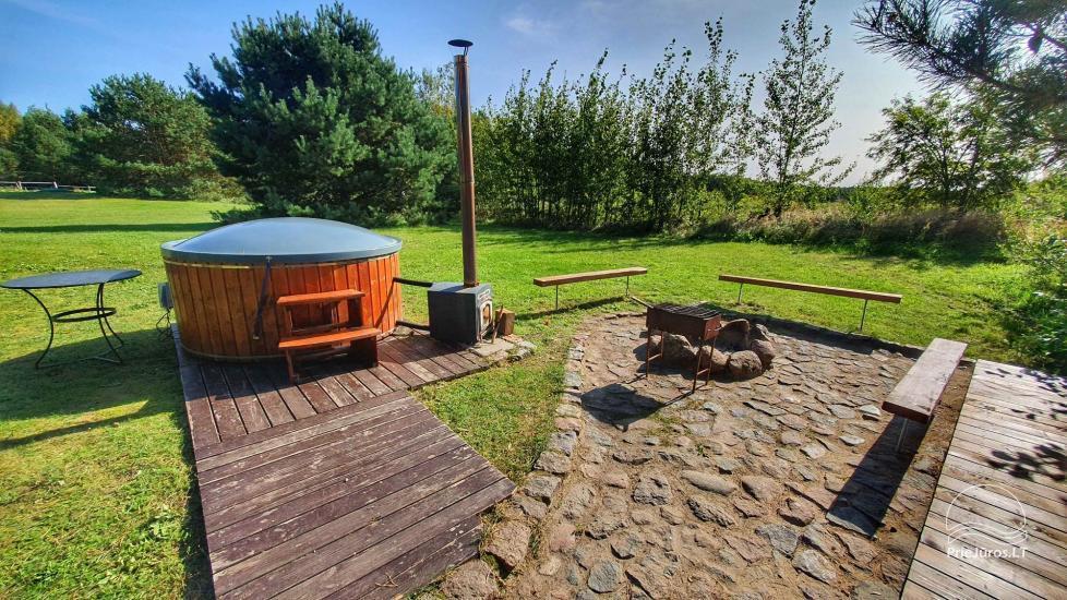 Dom gościnny z restauracją i sauną PAMARIO BURĖ w pobliżu Zalewu Kurońskiego - 29