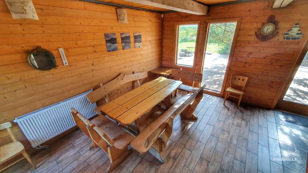 Dom gościnny z restauracją i sauną PAMARIO BURĖ w pobliżu Zalewu Kurońskiego - 30