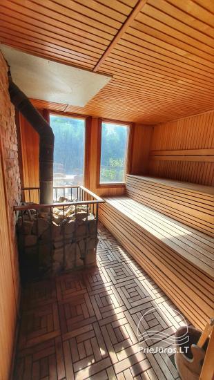Dom gościnny z restauracją i sauną PAMARIO BURĖ w pobliżu Zalewu Kurońskiego - 32