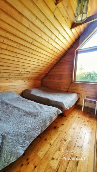 Dom gościnny z restauracją i sauną PAMARIO BURĖ w pobliżu Zalewu Kurońskiego - 33