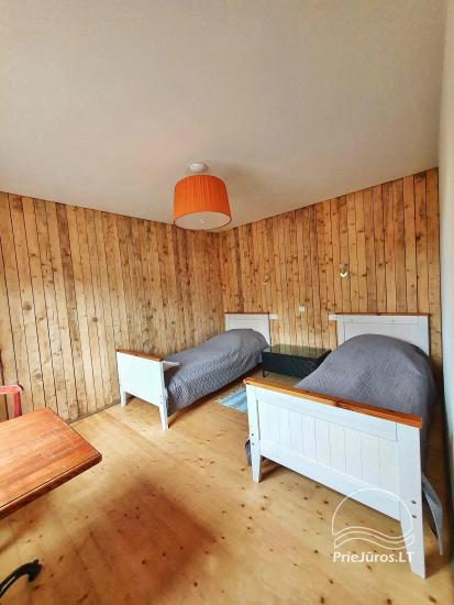 Dom gościnny z restauracją i sauną PAMARIO BURĖ w pobliżu Zalewu Kurońskiego - 39