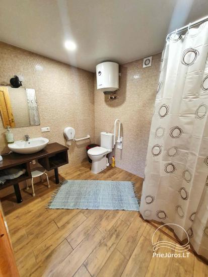 Dom gościnny z restauracją i sauną PAMARIO BURĖ w pobliżu Zalewu Kurońskiego - 40