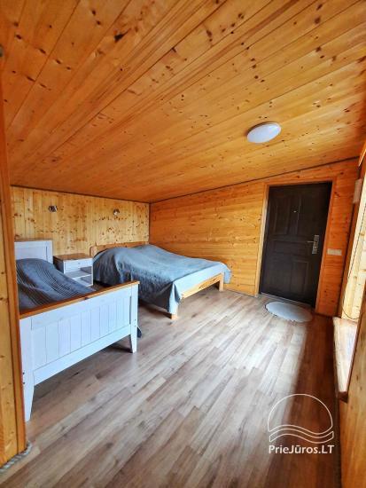 Dom gościnny z restauracją i sauną PAMARIO BURĖ w pobliżu Zalewu Kurońskiego - 42