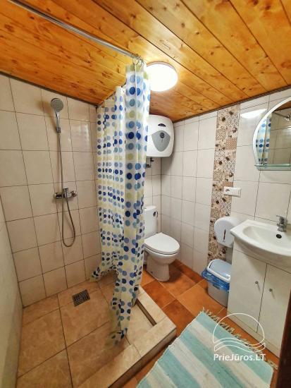 Dom gościnny z restauracją i sauną PAMARIO BURĖ w pobliżu Zalewu Kurońskiego - 44