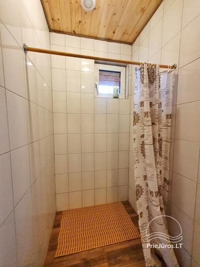 Dom gościnny z restauracją i sauną PAMARIO BURĖ w pobliżu Zalewu Kurońskiego - 47