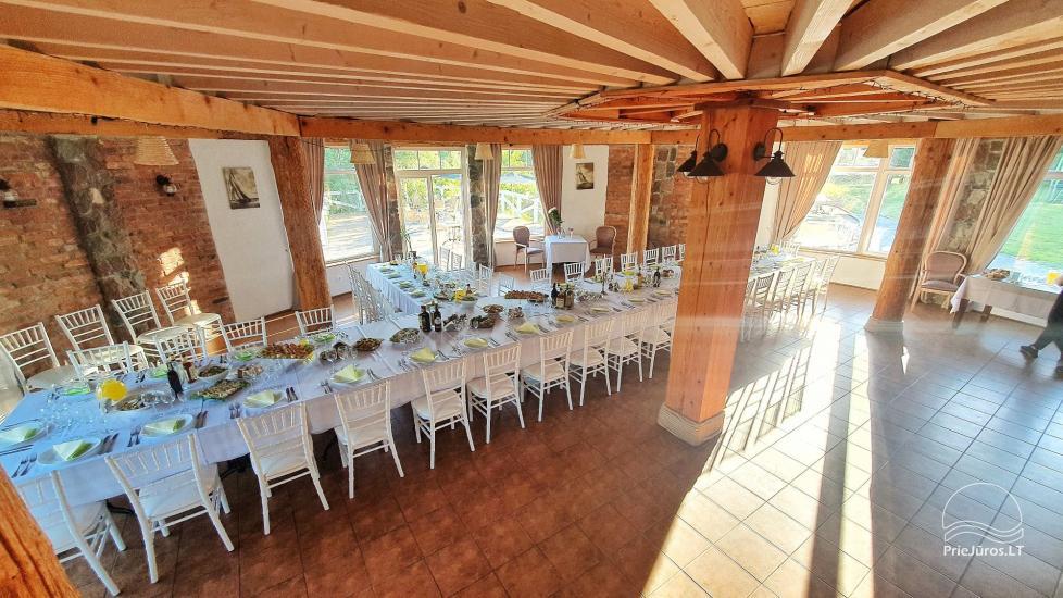 Dom gościnny z restauracją i sauną PAMARIO BURĖ w pobliżu Zalewu Kurońskiego - 3