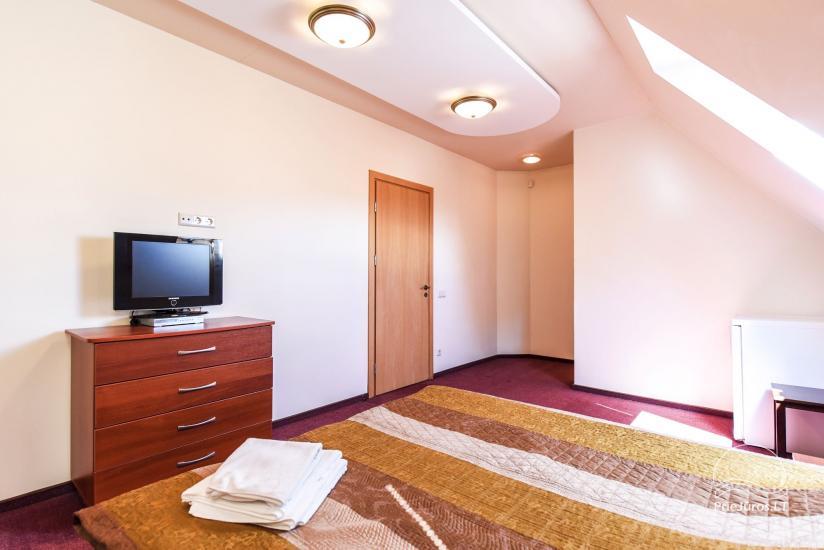 Pokoje, apartamenty w Sventoji OSUPIO TAKAS - 150m do morza - 28