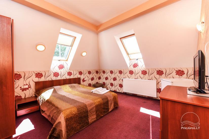 Pokoje, apartamenty w Sventoji OSUPIO TAKAS - 150m do morza - 30