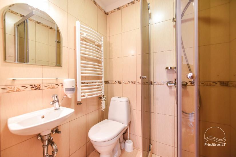 Pokoje, apartamenty w Sventoji OSUPIO TAKAS - 150m do morza - 25