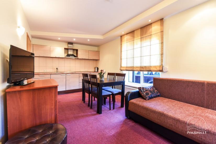Pokoje, apartamenty w Sventoji OSUPIO TAKAS - 150m do morza - 16