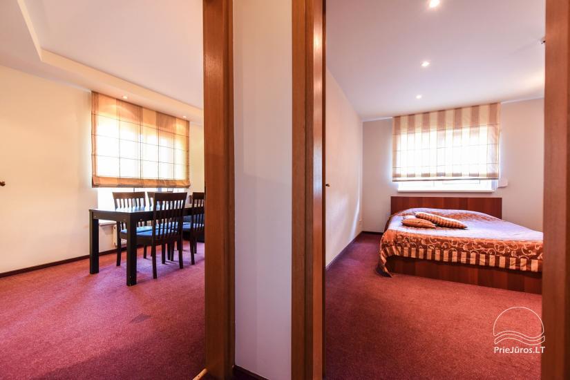 Pokoje, apartamenty w Sventoji OSUPIO TAKAS - 150m do morza - 20