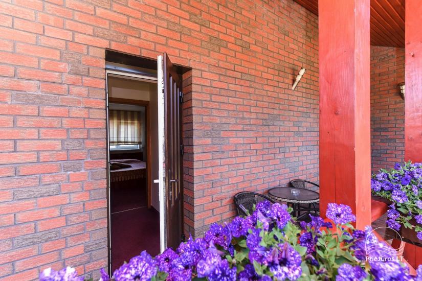 Pokoje, apartamenty w Sventoji OSUPIO TAKAS - 150m do morza - 14