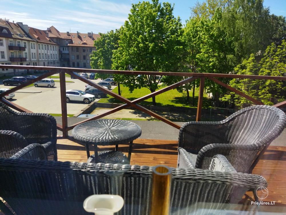 Mieszkanie z tarasem do wynajęcia w centrum Kłajpedy do komfortowego wypoczynku - 1