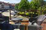 Mieszkanie z tarasem do wynajęcia w centrum Kłajpedy do komfortowego wypoczynku
