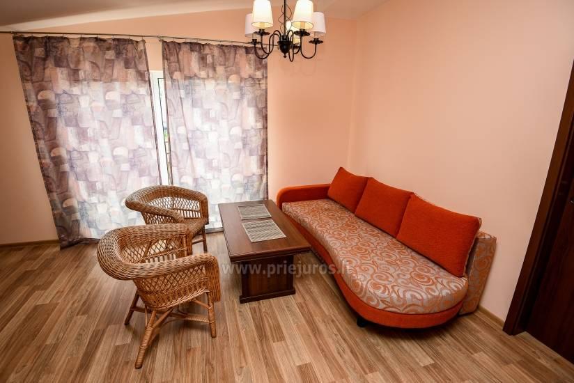 Mieszkanie w Palanga 300 m do plaży. Duży balkon, ogrodzony teren - 4