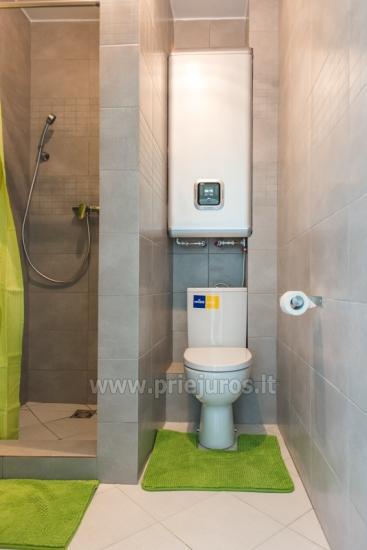 Przytulny, nowocześnie wyposażone mieszkanie 2 pokoje do wynajęcia w Sventoji - 9