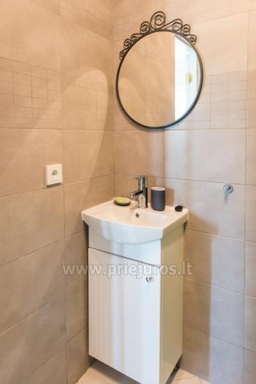 Przytulny, nowocześnie wyposażone mieszkanie 2 pokoje do wynajęcia w Sventoji - 10
