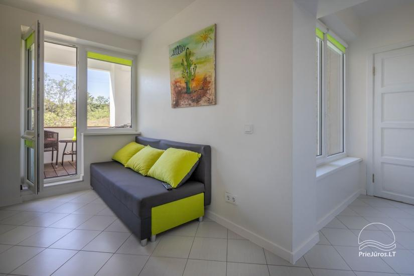 Przytulny, nowocześnie wyposażone mieszkanie 2 pokoje do wynajęcia w Sventoji - 5