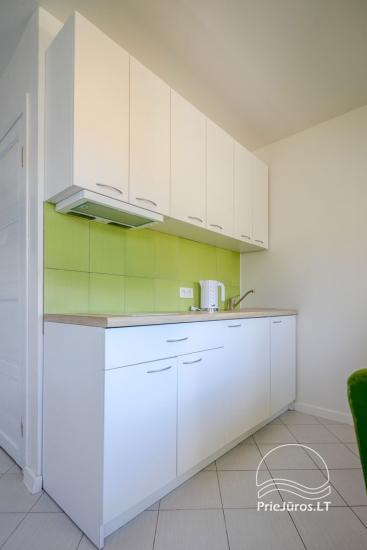 Przytulny, nowocześnie wyposażone mieszkanie 2 pokoje do wynajęcia w Sventoji - 3