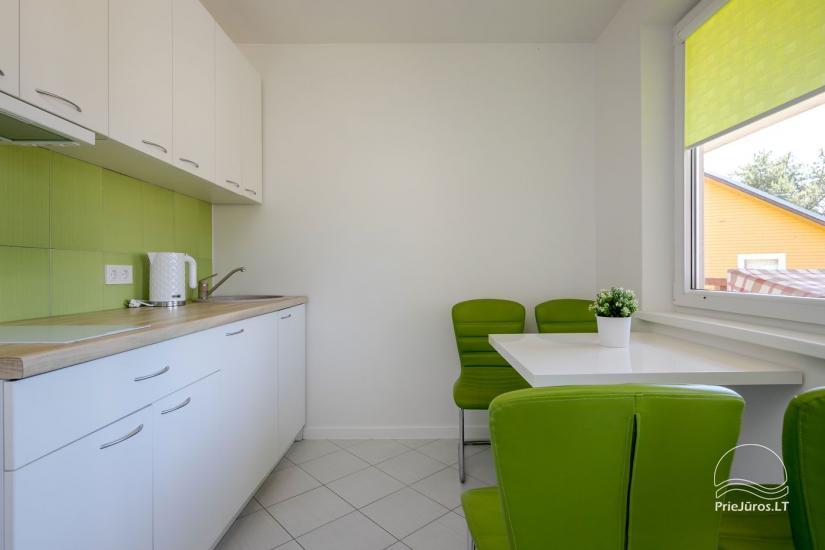 Przytulny, nowocześnie wyposażone mieszkanie 2 pokoje do wynajęcia w Sventoji - 1