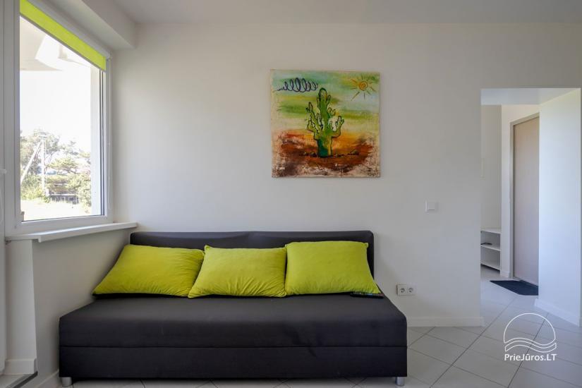 Przytulny, nowocześnie wyposażone mieszkanie 2 pokoje do wynajęcia w Sventoji - 4