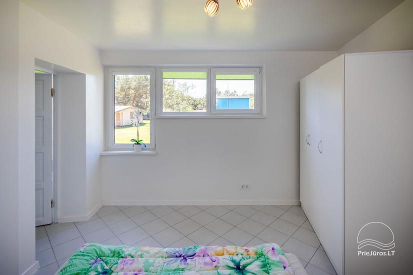 Przytulny, nowocześnie wyposażone mieszkanie 2 pokoje do wynajęcia w Sventoji - 7