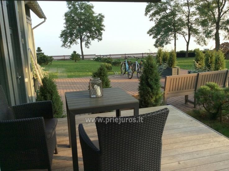 Piękny apartament z tarasem i widokiem na Mierzei lagunie w Preila - 1
