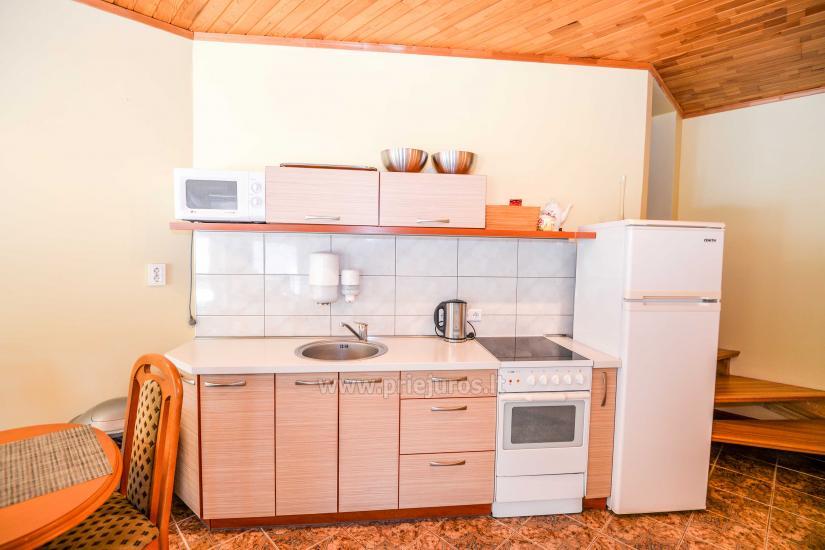 Dwa pokoje mieszkanie z tarasem w Juodkrante, Mierzeja Kurońska - 9