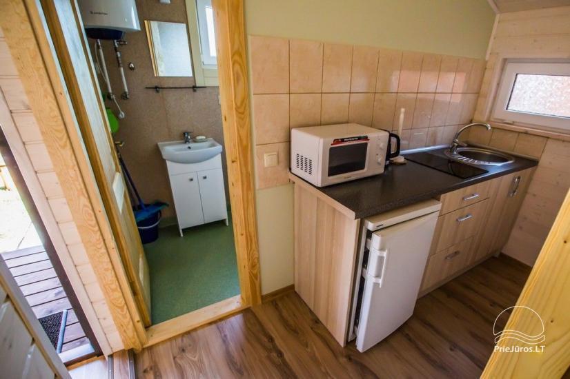 Domy wypoczynkowe Vakaris w Sventoji, Street Inn Mokyklos - 11