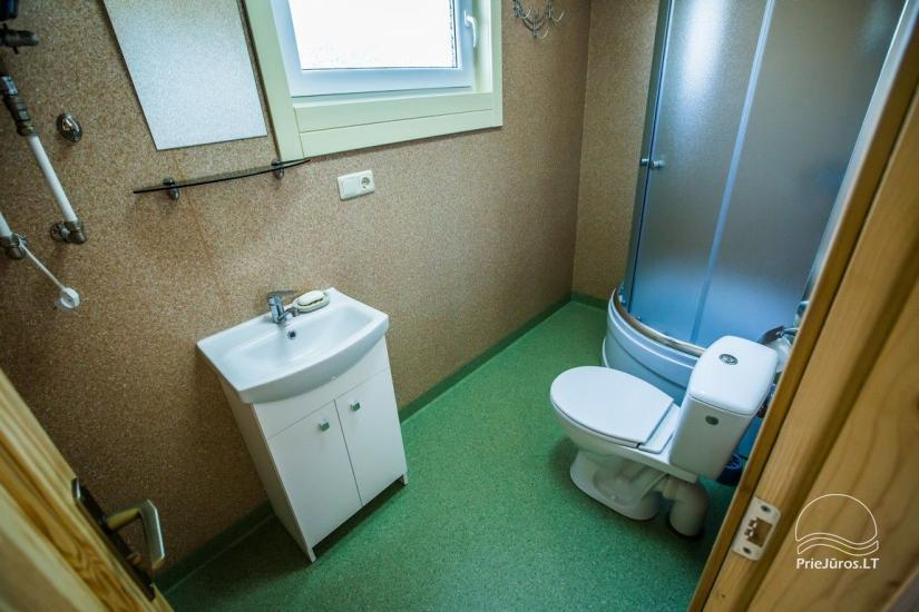 Domy wypoczynkowe Vakaris w Sventoji, Street Inn Mokyklos - 12