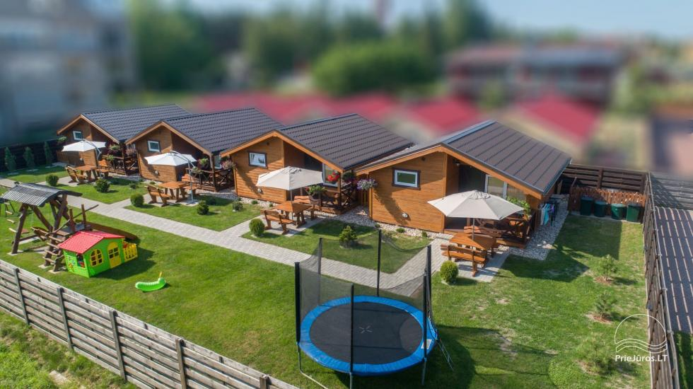 Domy wypoczynkowe Vakaris w Sventoji, Street Inn Mokyklos - 5