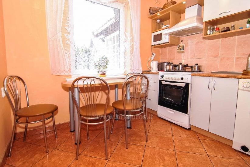 Mieszkanie do wynajęcia w Nidzie (do 6 osób), obok laguny. Domek na podwórku. - 20