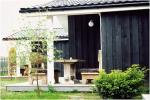 Nowe jednopokojowe, dwupokojowe drewniane domy w Sventoji - 8