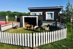 Nowe jednopokojowe, dwupokojowe drewniane domy w Sventoji - 10