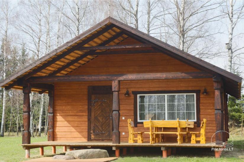 Małe domy wakacyjne do wynajęcia niedaleko od Sventoji (sauna, konie) - 2