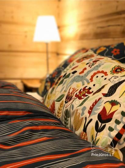 Małe domy wakacyjne do wynajęcia niedaleko od Sventoji (sauna, konie) - 3