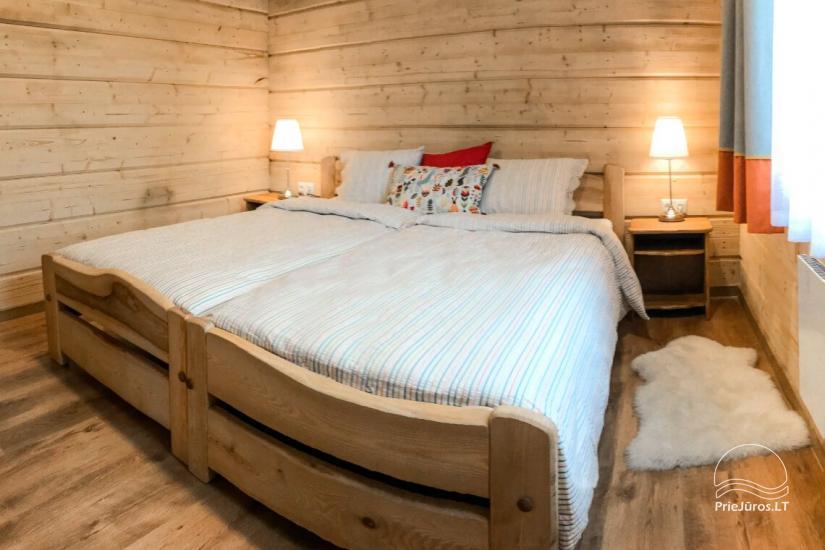 Małe domy wakacyjne do wynajęcia niedaleko od Sventoji (sauna, konie) - 5