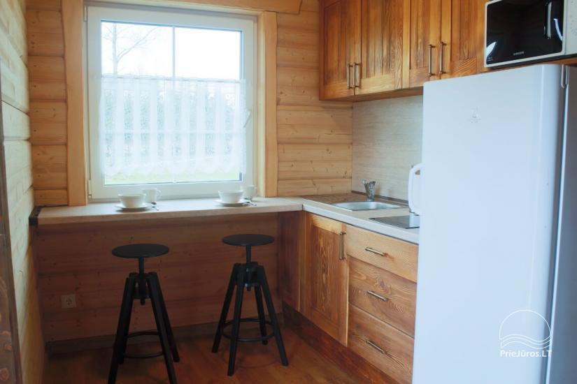Małe domy wakacyjne do wynajęcia niedaleko od Sventoji (sauna, konie) - 6
