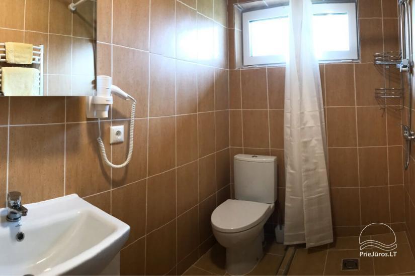 Małe domy wakacyjne do wynajęcia niedaleko od Sventoji (sauna, konie) - 8