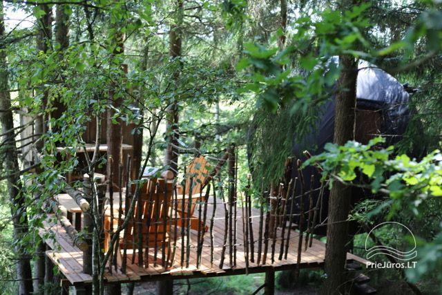 Małe domy wakacyjne do wynajęcia niedaleko od Sventoji (sauna, konie) - 13